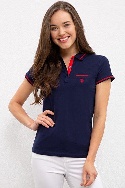 Lacivert Kadin T-Shirt