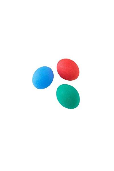 3 lü Set Silikon Stres Topu El Egzersiz Topu Fizik Tedavi Topu El Bilek Parmak Güçlendirme Top