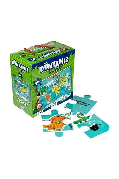 Ca Games Dünyamız Yer Puzzle 24 Parça