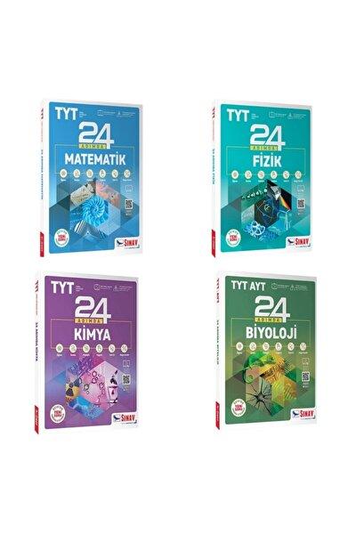 Tyt Sayısal Set 24 Adım Da Matematik Fizik Kimya Biyoloji Soru Bankası
