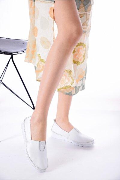 Hakiki Deri Kadın Günlük Ayakkabı Rkl255