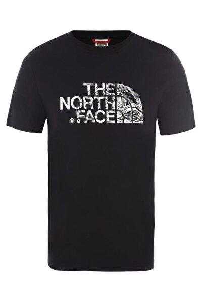 M S/S WOODCUT DOME EU Siyah Erkek T-Shirt 100576740