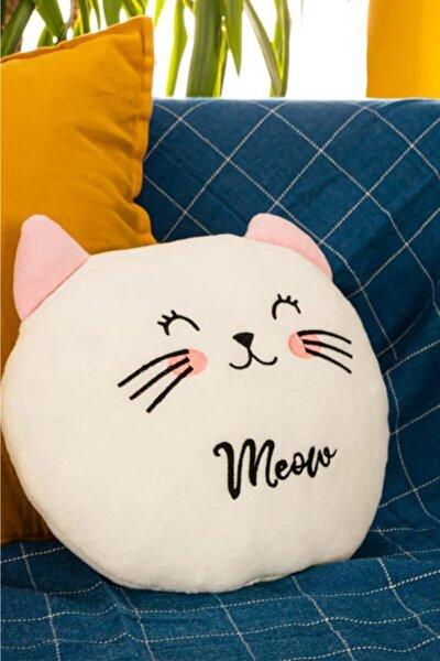 Sevimli Kedi Meow Peluş Yastık