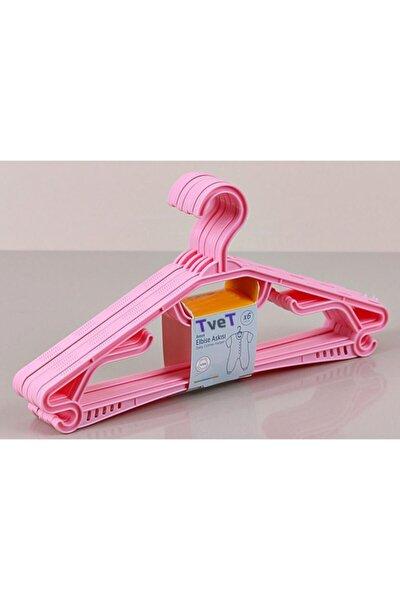 Plastik Bebek Elbise Askısı 6 Lı 30 Cm T39669