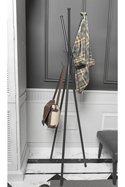 Metal Ayaklı Askılık Elbise Askısı Portmanto Askılık