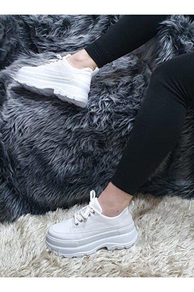 Kadın Beyaz Yüksek Topuk Ayakkabı