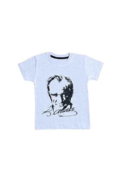 Unisex Çocuk Atatürk Baskılı Tişört 4804