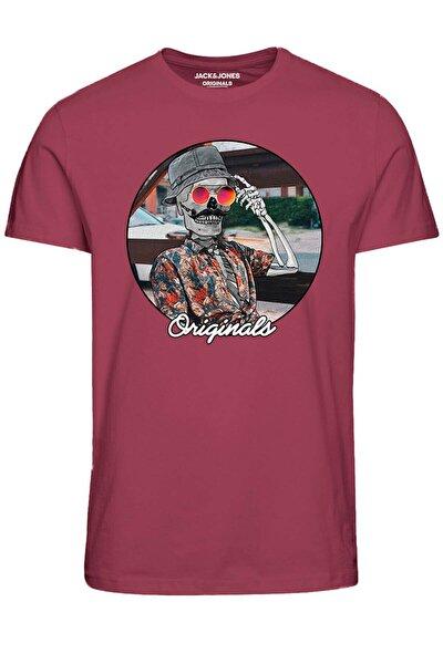 Kuru Kafa Baskılı T-shirt Jorskullers Tee Ss Crew Neck - 12190589