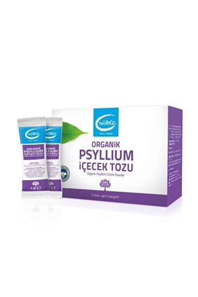 Lifeco Organik Psyllium Karnıyarık Otu Tohumu Tozu 4grx60 Şase