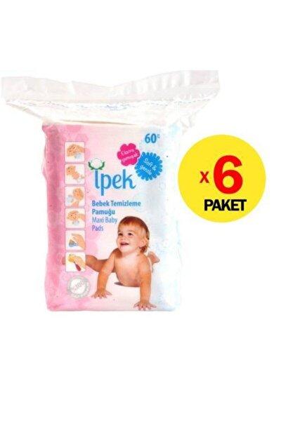 Ipek Bebek Temizleme Pamuğu 60 Adet X 6 Pk.
