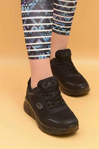 Kadın Siyah Günlük Spor Ayakkabı 5202z