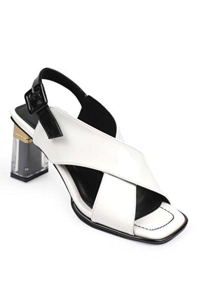 Kadın Şeffaf Topuk Sandalet