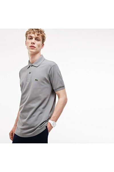 Erkek Regular Fit L1212 Gri Polo Yaka T-Shirt L1212