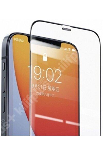 Iphone 12 Pro Max Tam Kaplayan Nano Teknoloji Kırılmaz Cam 9d