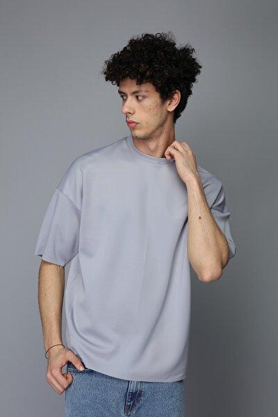 Unisex Gri Scuba Tshirt