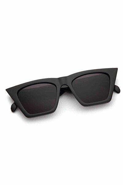 2019 Sezon Cat Eye Güneş Gözlüğü Siyah