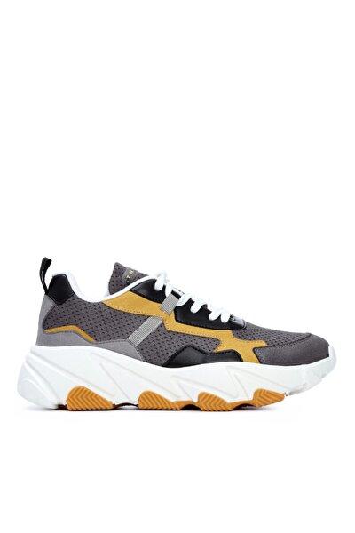 Kadın Gri Vegan Sneakers & Spor Ayakkabı 625 1251 Bn Ayk Y21