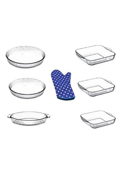 Beyaz Borcam Mutfak Seti 6 Parça