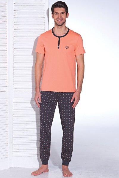 Erkek Baskılı Pijama Takım