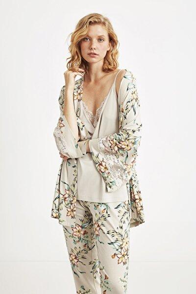 1838 Üçlü Pijama Takım