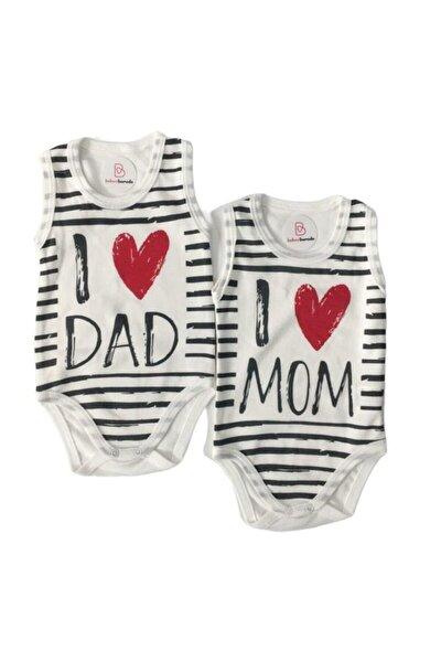 I Love Mom-ı Love Dad Ikili Zıbın