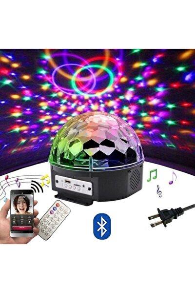 Ledli Disco Topu Rgb Ledli Kumandalı Mp3 Çalar Bluetooth/usb Ve Sd Kart Okuyucu