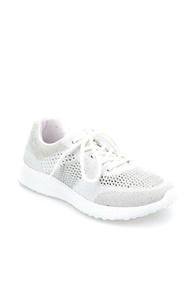 Missy W Beyaz Açık Gri Kadın Koşu Ayakkabısı 100377652
