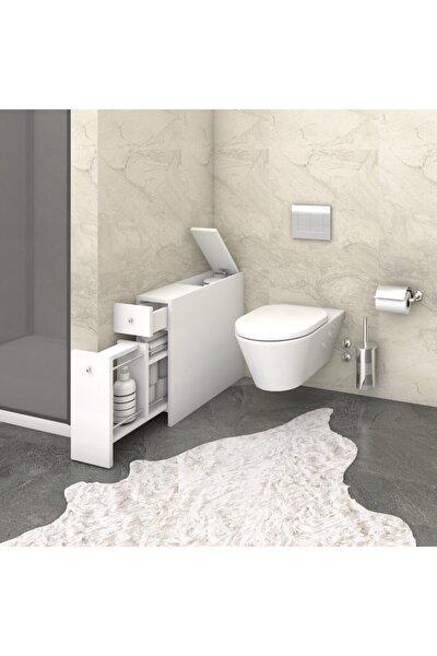 Beyaz Smart Banyo Dolabı