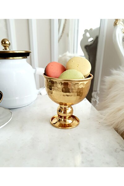 Gold Ayaklı Kase, Dondurmalık, Şekerlik, Lokumluk