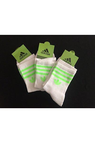 4 Lü Unisex Karışık Atletik Çorap Seti