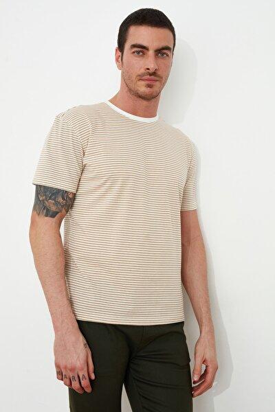 Vizon Erkek Regular Fit Kısa Kollu T-Shirt TMNSS20TS1033