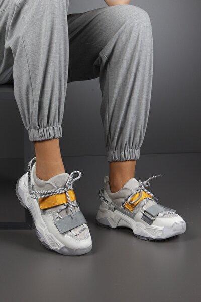 Kadın Multi Kalın Taban Spor Ayakkabı