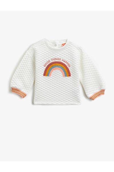 Bebek İslemeli Sweatshirt