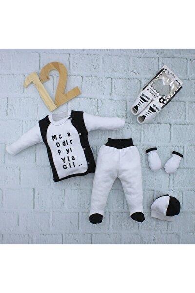 Siyah Beyaz Bebek Takımı K232