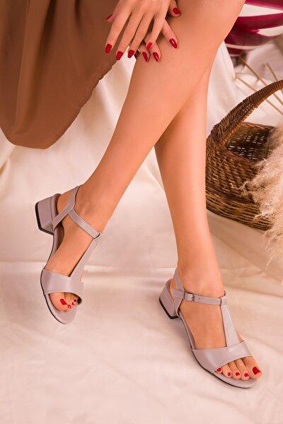 Gri  Kadın Klasik Topuklu Ayakkabı 15969