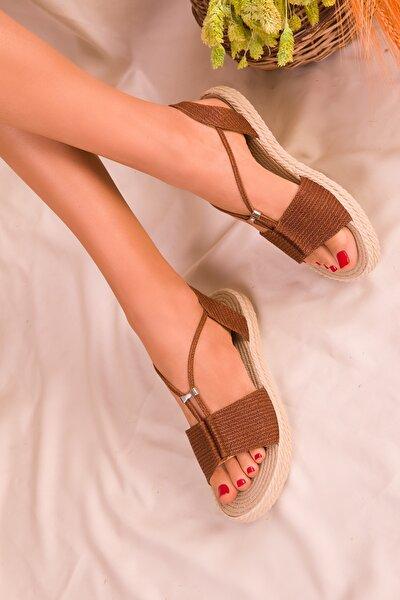 Taba Kadın Sandalet 14661