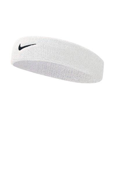 Unisex Beyaz Nike Swoosh Headband