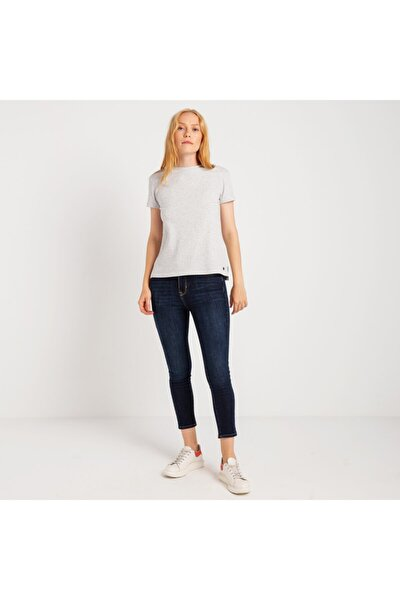Kadın Tişört 14-w00119-130