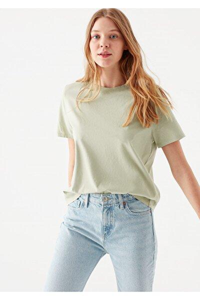 Yeşil Vatkalı Yeşil Tişört