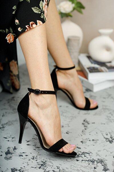 Kadın Siyah İnce Topuklu Ayakkabı