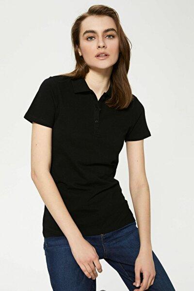 Kadın Yeni Siyah Tişört