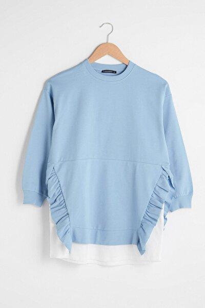 Kadın Mavi Tunik