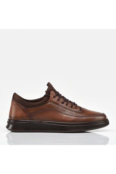 Hakiki Deri Taba Erkek Günlük Ayakkabı