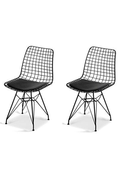 Bila Baby 2 Li Tel Sandalye Metal Sandalye Cafe Restoran Baheçe Ofis Sandalyesi