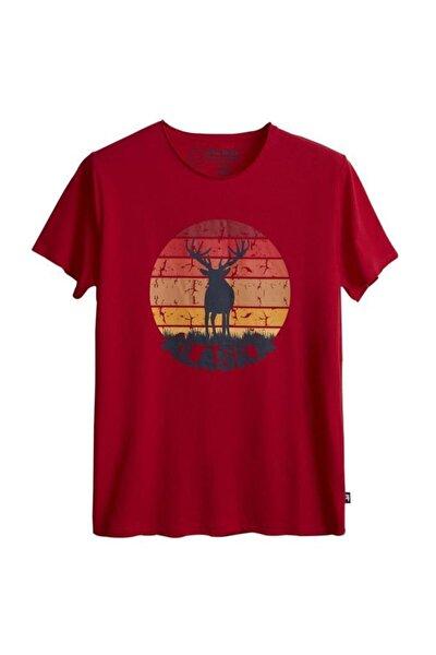 Erkek T-shirt Alaska Deer Tee 21.01.07.001