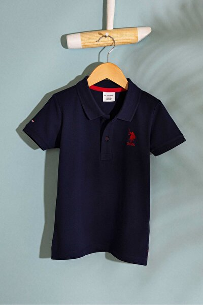 Lacivert Erkek Çocuk T-Shirt Basic