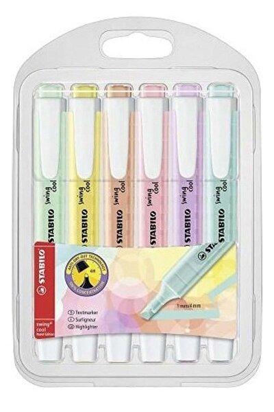 Cool Pastel Kalem 6'lı Paket