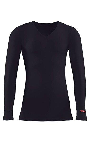 Erkek Siyah 2. Seviye Termal T-shirt 1257