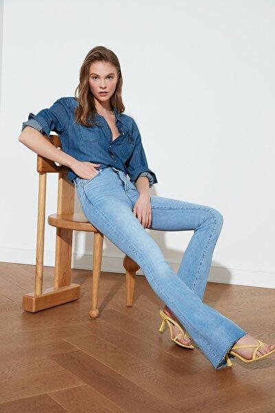 Mavi Yüksek Bel Flare Jeans TWOSS21JE0407
