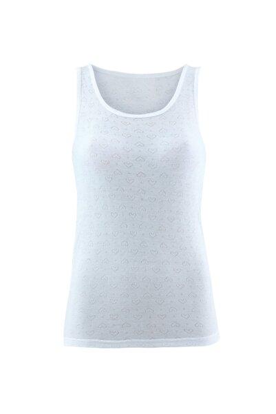 Kadın Termal Atlet 1. Seviye 1266 - Beyaz